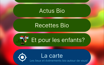 Application mobile : LA BIO EN POCHE